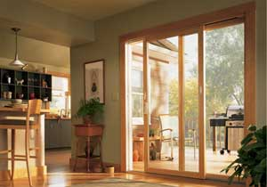 Andersen Contemporary Sliding Patio door