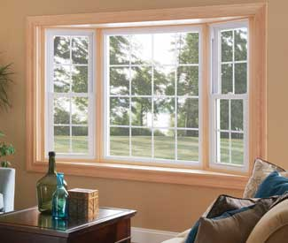 Silverline Double Hung Bay Windows